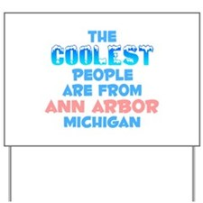 Coolest: Ann Arbor, MI Yard Sign