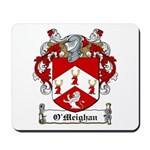O'Meighan Family Crest Mousepad