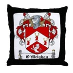 O'Meighan Family Crest Throw Pillow