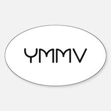 YMMV Oval Decal