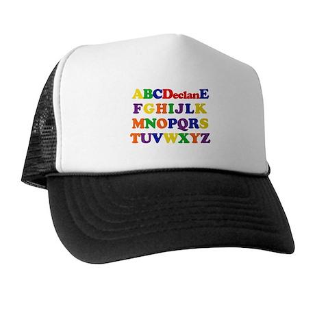 Declan - Alphabet Trucker Hat