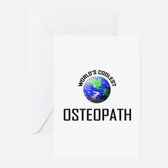 World's Coolest OSTEOPATH Greeting Cards (Pk of 10