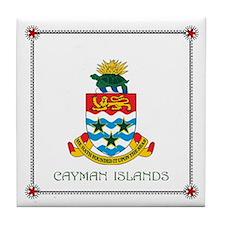 Tile Coaster - CAYMAN ISLANDS