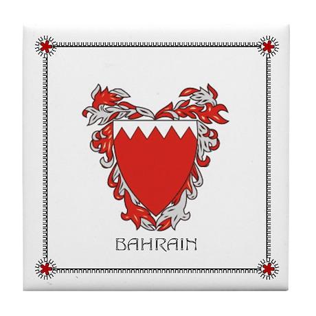 Tile Coaster - BAHRAIN