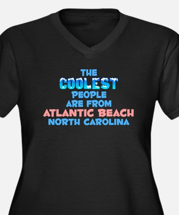 Coolest: Atlantic Beach, NC Women's Plus Size V-Ne