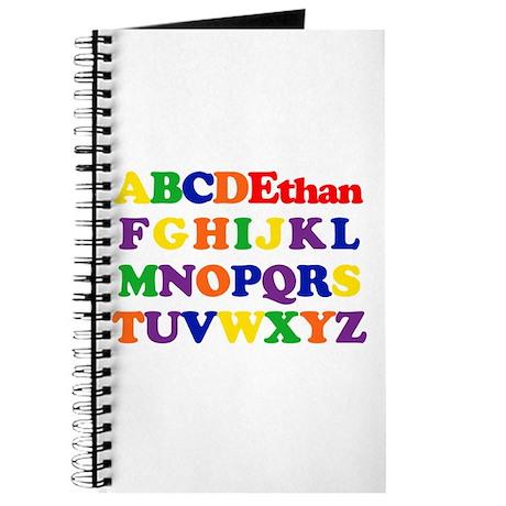 Ethan - Alphabet Journal