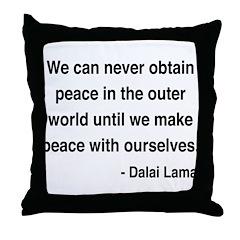 Dalai Lama 14 Throw Pillow