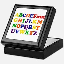Finn - Alphabet Keepsake Box