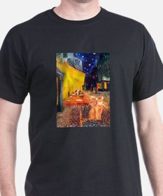 Cafe & Red Abyssinian (S) T-Shirt
