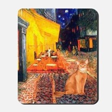 Cafe & Red Abyssinian (S) Mousepad