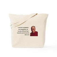Dalai Lama 15 Tote Bag