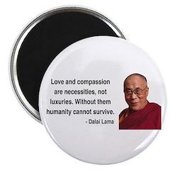 """Dalai Lama 15 2.25"""" Magnet (10 pack)"""