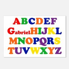 Gabriel - Alphabet Postcards (Package of 8)