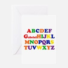 Gabriel - Alphabet Greeting Card