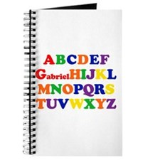 Gabriel - Alphabet Journal