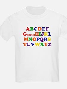 Alphabet kid 39 s clothing alphabet kid 39 s shirts hoodies for Cute greek letter shirts