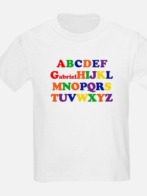 Gabriel - Alphabet T-Shirt