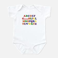 Gabriel - Alphabet Infant Bodysuit