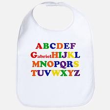 Gabriel - Alphabet Bib