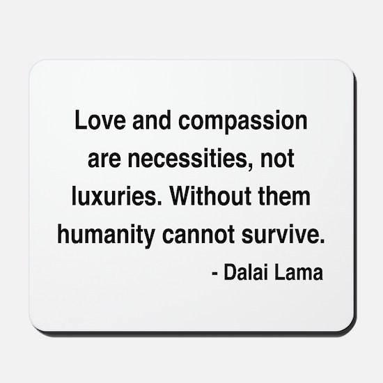 Dalai Lama 15 Mousepad