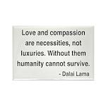 Dalai Lama 15 Rectangle Magnet (100 pack)