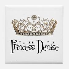 Princess Denise Tile Coaster