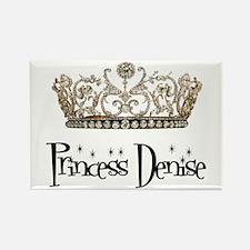 Princess Denise Rectangle Magnet