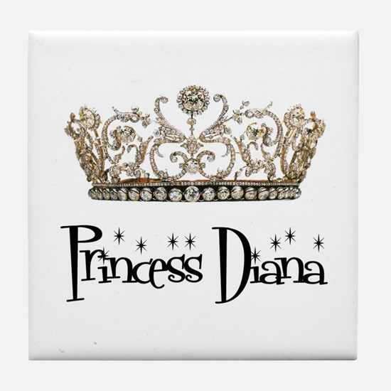 Princess Diana Tile Coaster