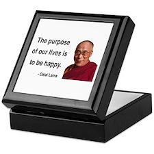 Dalai Lama 17 Keepsake Box
