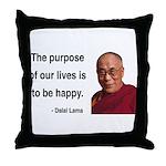 Dalai Lama 17 Throw Pillow