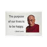 Dalai Lama 17 Rectangle Magnet (10 pack)