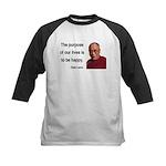 Dalai Lama 17 Kids Baseball Jersey