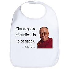 Dalai Lama 17 Bib