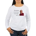 Dalai Lama 17 Women's Long Sleeve T-Shirt