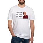 Dalai Lama 17 Fitted T-Shirt