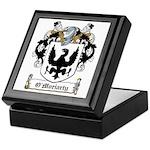 O'Moriarty Family Crest Keepsake Box