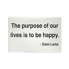 Dalai Lama 17 Rectangle Magnet (100 pack)
