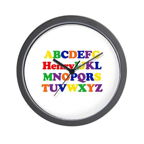 Henry - Alphabet Wall Clock