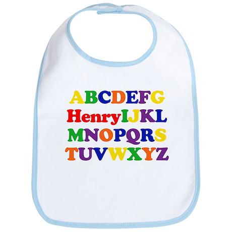 Henry - Alphabet Bib