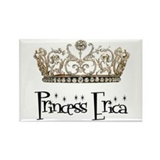 Princess Erica Rectangle Magnet