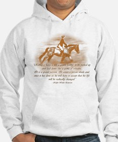 Riding Is A Passion Equestrian Hoodie