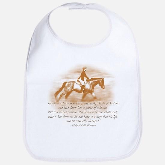 Riding Is A Passion Equestrian Bib