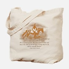 Riding Is A Passion Equestrian Tote Bag