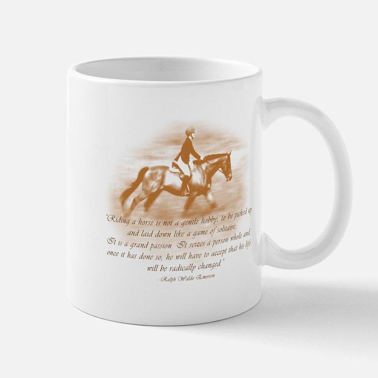 Riding Is A Passion Equestrian Mug