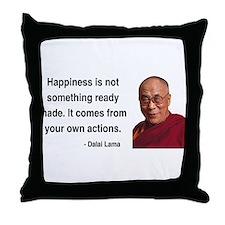 Dalai Lama 18 Throw Pillow