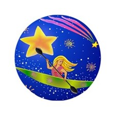 "Star Kayaker 3.5"" Button"