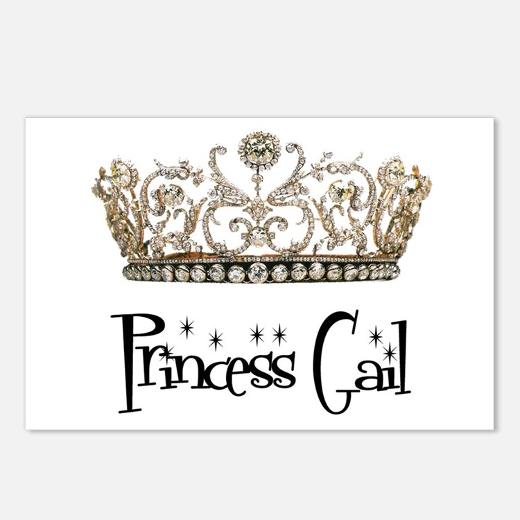 Princess Gail Postcards (Package of 8)