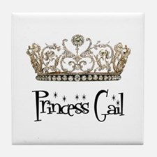 Princess Gail Tile Coaster