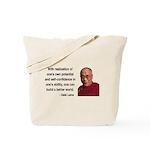 Dalai Lama 19 Tote Bag
