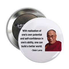 """Dalai Lama 19 2.25"""" Button (100 pack)"""